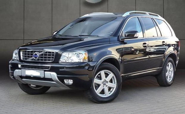 VOLVO XC 90 (07/2014) - BLACK METALLIC - lieu: